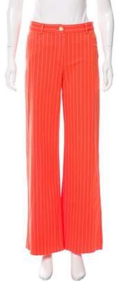 Loro Piana Striped Wide-Leg Pants w/ Tags.