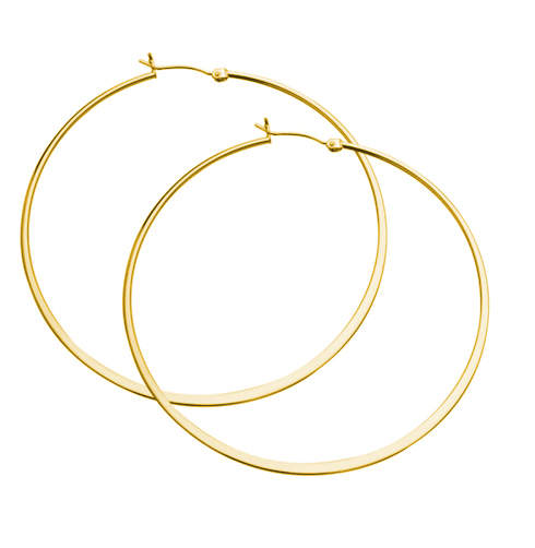 Jennifer Zeuner Olivia Large Hoop Earrings