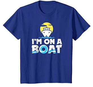 "The Official ""I'M ON A BOAT"" Funny Boating T-shirt"