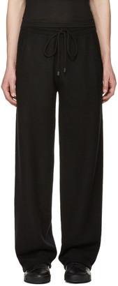 Calvin Klein Collection Black Cashmere Redel Lounge Pants $1,295 thestylecure.com