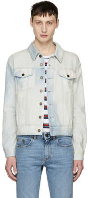 Saint Laurent Blue Denim Trucker Jacket