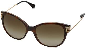Versace Women's Gradient VE4316B-514813-57 Cat Eye Sunglasses