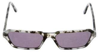 Illesteva Tortoise Shell Square Sunglasses