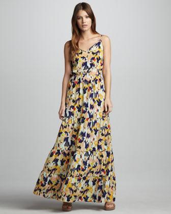 Eight Sixty Diane Printed Maxi Dress