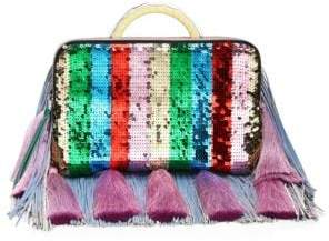 The Volon Sequined Clutch