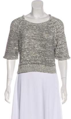 3.1 Phillip Lim Short Sleeve Knit Sweater