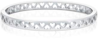 Tommy Hilfiger Silver Tiny Heart Bangle