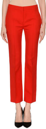 Alexander McQueen Skinny Cropped Suiting Pants