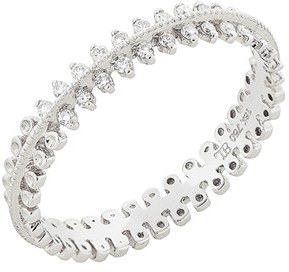 Women's Bony Levy Stackable Three Row Diamond Band Ring $895 thestylecure.com
