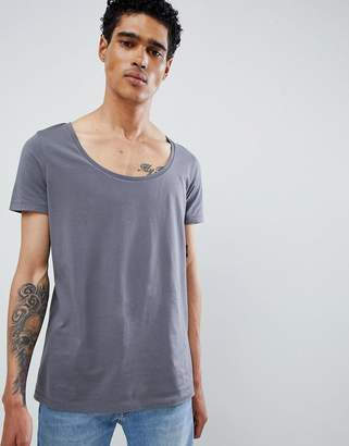 Asos DESIGN T-Shirt With Deep Scoop Neck