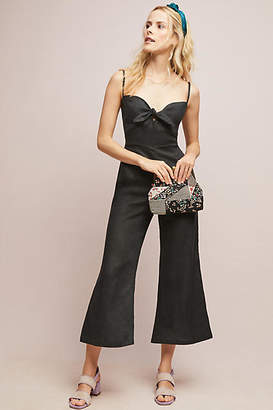 Faithfull Linen Presley Cropped Jumpsuit