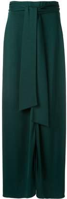 LAYEUR tie waist skirt