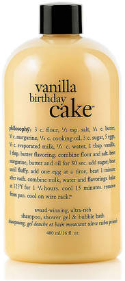 Philosophy Unisex 16Oz Vanilla Birthday Cake Bath Care