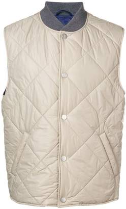 Eleventy press stud quilted gilet
