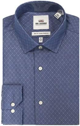 Ben Sherman Regular-Fit Printed Dress Shirt