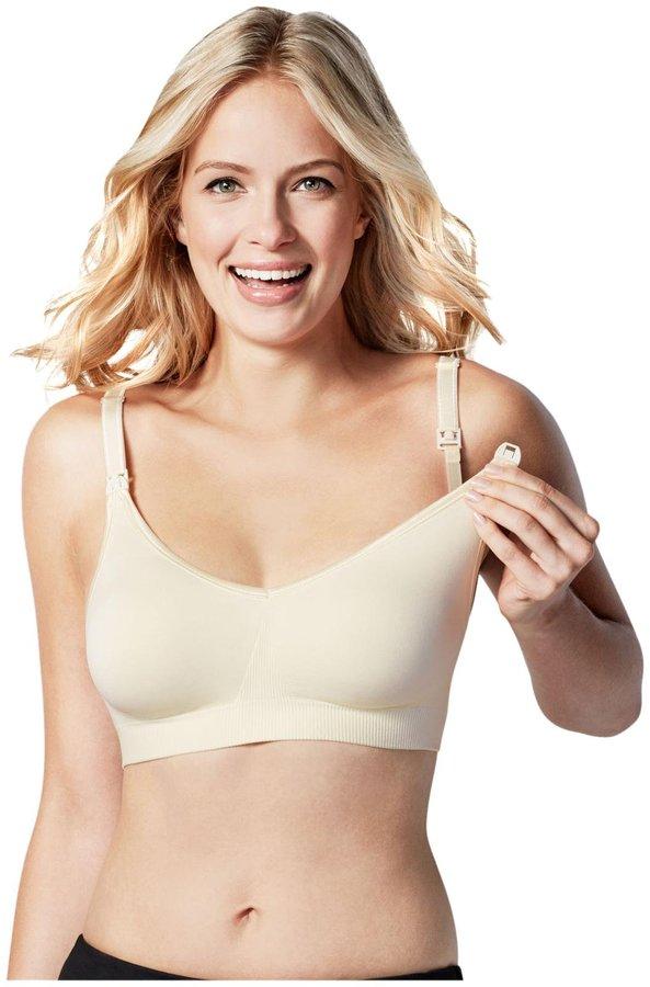 Bravado Designs Body Silk Seamless Nursing Bra - Ivory - 2X