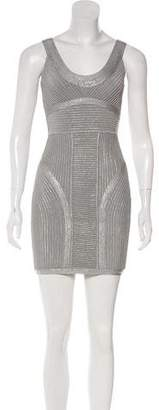 Herve Leger Mini Bandage Dress w/ Tags