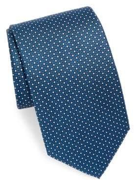 Brioni Silk Tie With Design