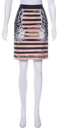 Emma Cook Mixed Print Pencil Skirt