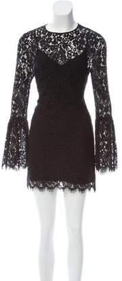 Rachel Zoe Lace Long Sleeve Dress