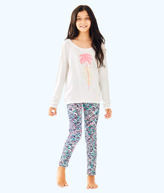 Lilly Pulitzer UPF 50+ Luxletic Girls Mini Weekender Legging