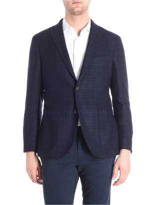 Boglioli Jacket Cotton And Wool