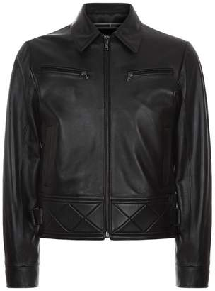 McQ Leather Bondage Biker jacket