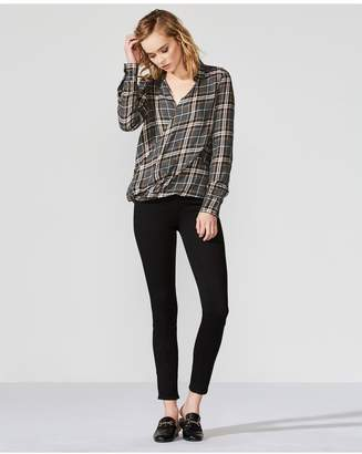 Bailey 44 Bailey/44 Wipe Out Plaid Top