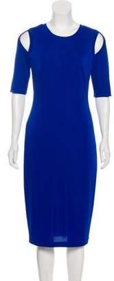 Bailey 44 Cold Shoulder Midi Dress