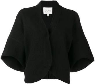 Dagmar cropped short-sleeve cardigan