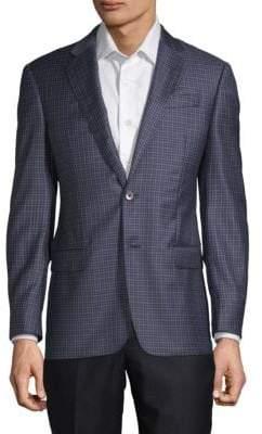 Armani Collezioni Classic-Fit Checked Sportcoat