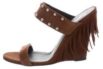 Giuseppe Zanotti Studded Wedge Sandals