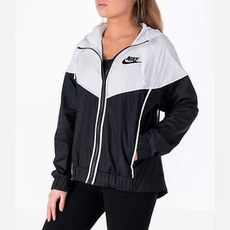 Nike Women's Sportswear Woven Windrunner Jacket