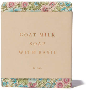 Saipua Goat Milk with Basil Soap
