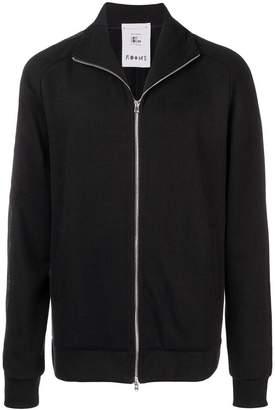 Lost & Found Ria Dunn high neck zipped sweatshirt
