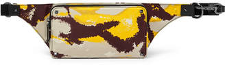 Valentino Camouflage-Print Shell Belt Bag