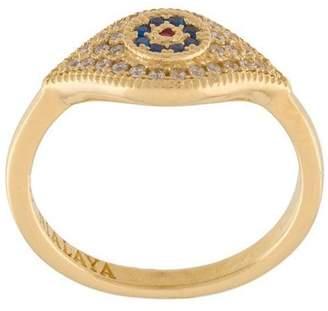 Nialaya Jewelry 'Enchanting' evil eye ring
