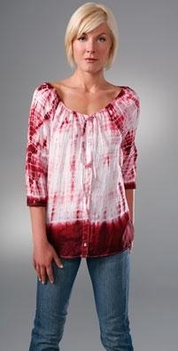 Velvet Pili Tie-Dye Tunic