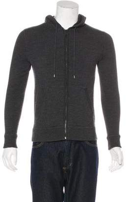 Michael Kors Wool Hooded Sweatshirt