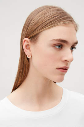 Cos CHANGING PROFILE STUD EARRINGS