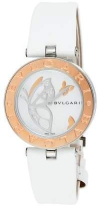 Bvlgari ブルガリ ブルガリ) 腕時計 BZ30BDSGLユニセックスホワイトパールF【 】