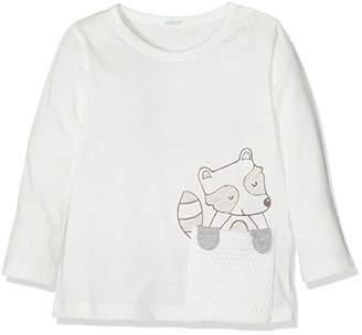 Benetton Baby T-Shirt, (White 0), (Size: 62)