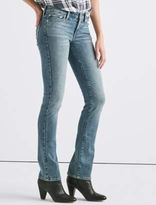 Sweet Mid Rise Straight Jean