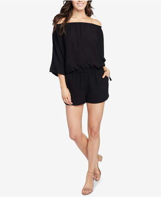 Rachel Roy Lia Off-The-Shoulder Romper, Created for Macy's