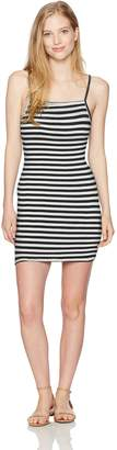 Billabong Women's Dream Song Dress, Black/White, L