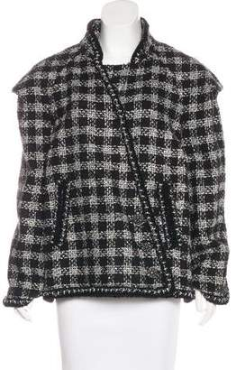 Chanel Caban Tweed Jacket w/ Tags