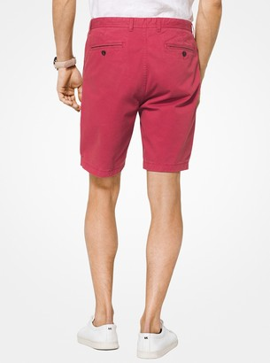 Michael Kors Slim-Fit Cotton-Twill Shorts