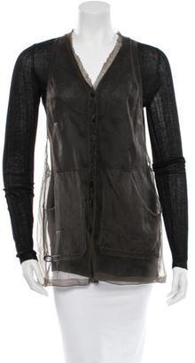 Vera Wang Cardigan $65 thestylecure.com