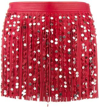 Valentino fitted short skirt