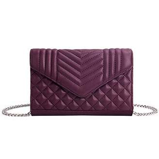 Envelope Clutch Bag with Chain Strap - Women Evening Clutch Purses with Card Slots